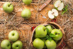 taller cocina crumble manzana
